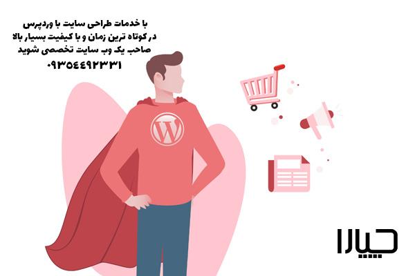 طراحی سایت با وردپرس01