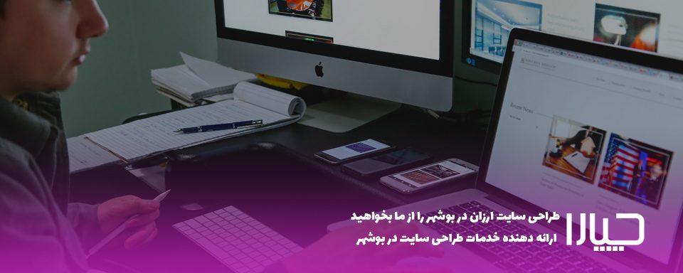 خدمات طراحی سایت ارزان در بوشهر