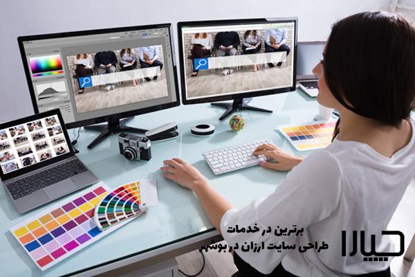 طراحی وب سایت ارزان در بوشهر